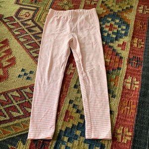 Girls pink leggings.
